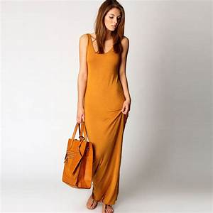 LOVE FASHION E303 Women Summer Dress 2016 Tank Top Ankle ...