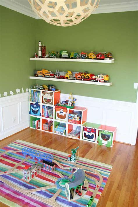jeu de rangement de chambre rangement salle de jeux enfant 50 idées astucieuses
