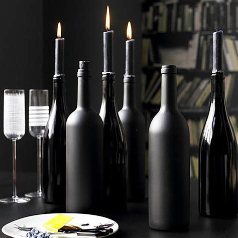 wine bottle wine bottle centerpieces budget friendly and looking chic