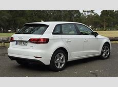 Audi A3 Sportback 10 TFSI 2017 review road test CarsGuide