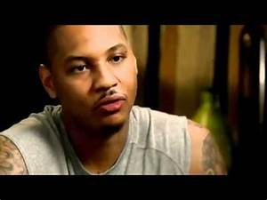 Carmelo Anthony Interview about playing in New York - YouTube