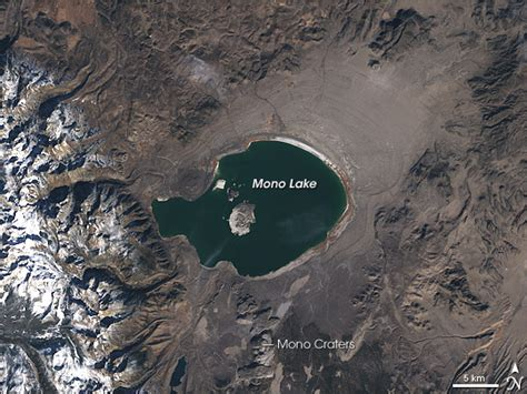 flat nevada mono lake california image of the day