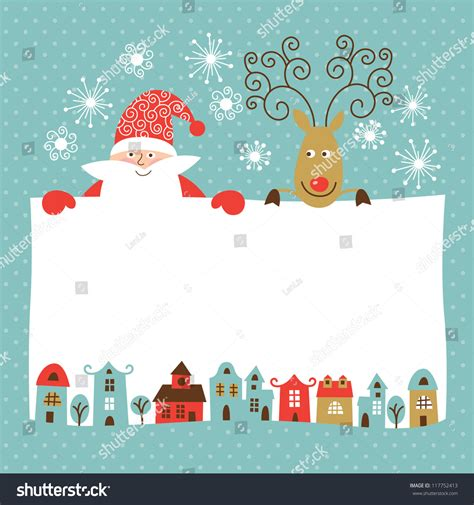 christmas cards shutterstock greeting new year card stock vector 117752413