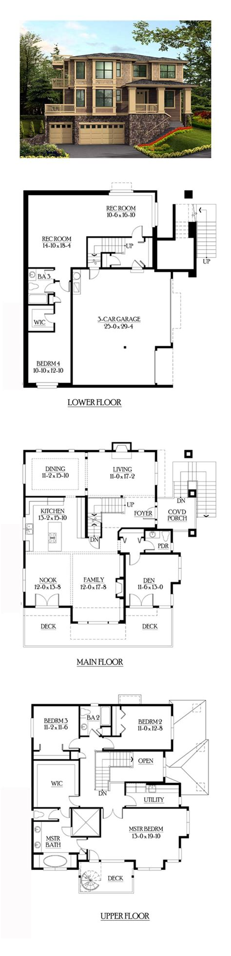 house plans with finished basements finished basement cool house plan id chp 39324 total