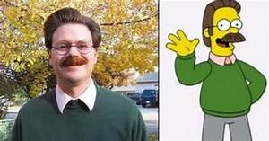 16 people who are hilarious look alikes of cartoon characters