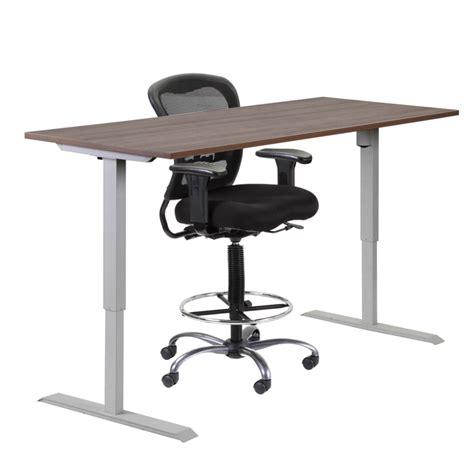 adjustable height office desk height adjustable standing height desk macbride office
