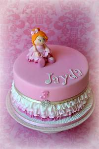 Birthday Cake For A Little Girl Who Loves To Dance The ...