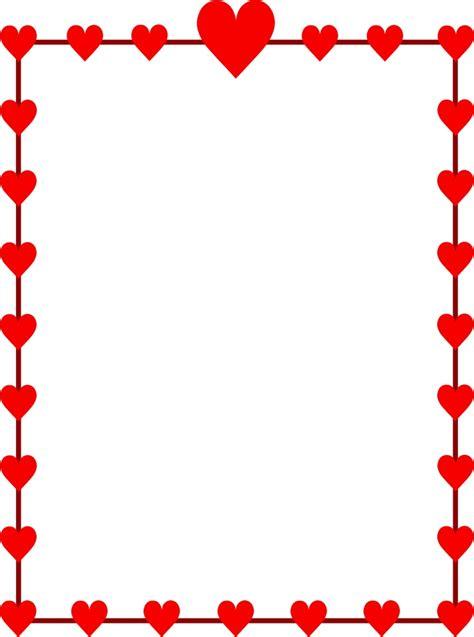 valentine clipart border  clipartioncom