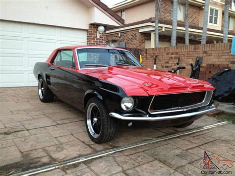 ford mustang coupe   restomod fast custom