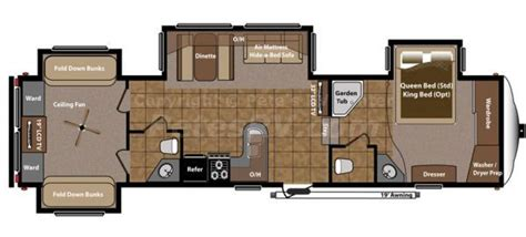 two bedroom fifth wheel fifth wheel 2 bedroom cers roughin it