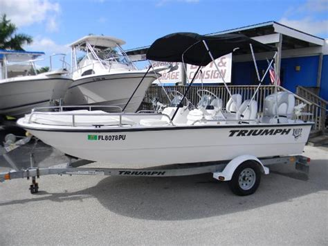 Triumph Skiff Boats For Sale by Used Power Boats Flats Boats For Sale 8 Boats