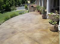 lovely design ideas for a concrete patio Lovely Staining Concrete Patio 1000 Images About Concrete On Pinterest Stains Concrete Patios ...