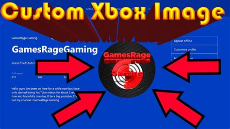 How To Get A Custom Gamerpic On Xbox One Make Any