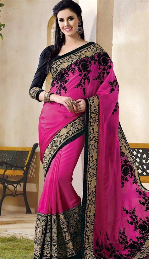 Buy Latest Fashionable Designer Saree Online At Lowest