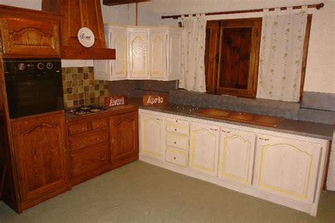 renovation meuble cuisine en chene renovation cuisine chene meilleures images d 39 inspiration