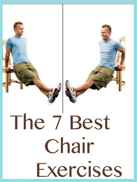 9 best images of chair exercises printable chair