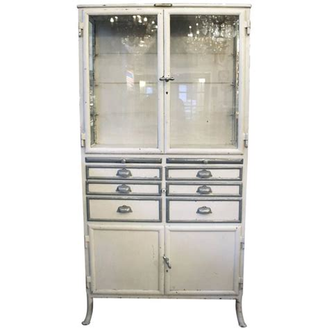 Cabinet With Drawers by 1890s Dental Cabinet With Drawers And
