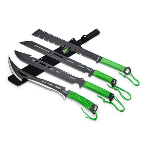 machete zombie hunter series apocalypse knife weapons re swords knives amazon gear sometime hoping reasons soon bacon