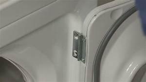 Ge Gas Dryer Door Hinge Replacement  We1m505