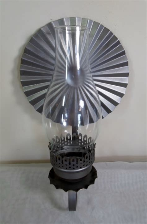 vintage mid century retro wall sconce candle holder