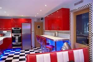 American Diner Einrichtung : american diner style kitchens for the home pinterest k che wohnideen und renovierung ~ Sanjose-hotels-ca.com Haus und Dekorationen