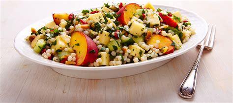 salade de couscous israelien  lemmental recette