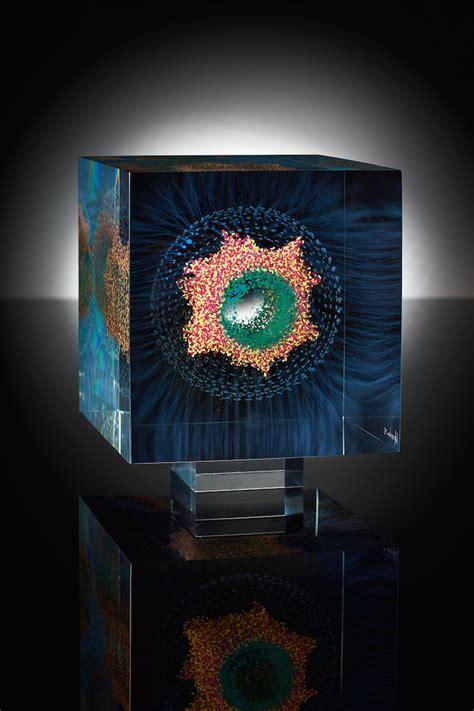dimensional glass paintings  wilfried grootens