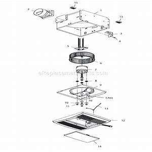 Broan Qtr070l Parts List And Diagram   Ereplacementparts Com