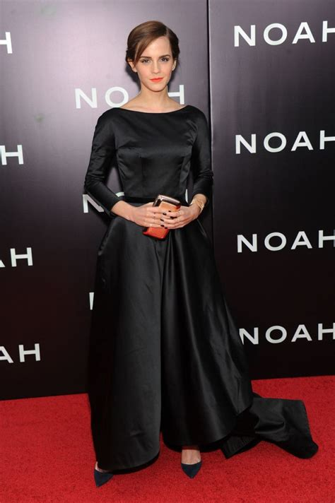 Emma Watson Red Carpet Noah Premiere New York City