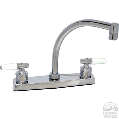 kitchen faucet finishes chrome finish hi arc kitchen faucet with tea cup handles