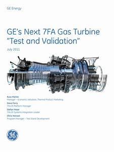 7fa Gas Turbine From Ge