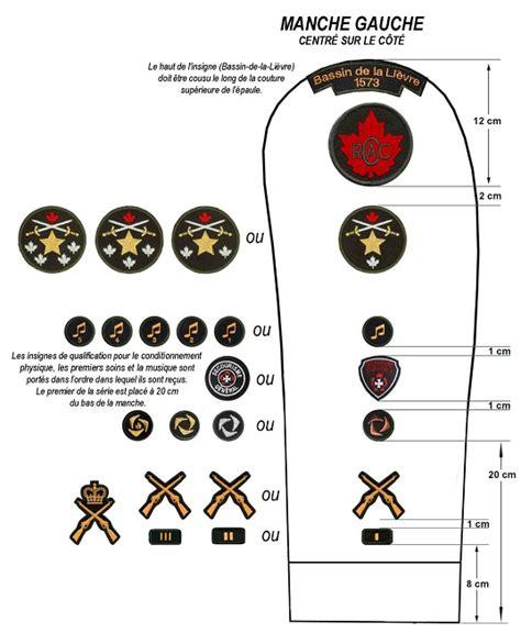 corps de cadets  mercier comment porter mon uniforme