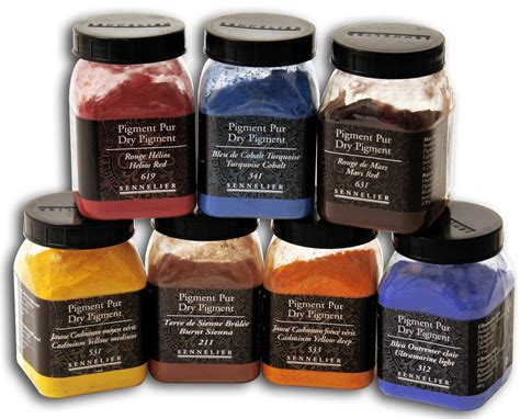 Color Palettes For Home Interior - pigment binders binders pigments paints mediums