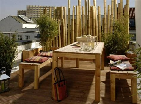 bamboo balcony privacy screen design ideas   feng
