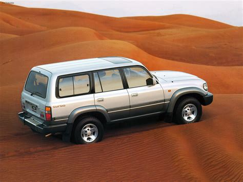 Toyota Land Cruiser 80 VX (HZ81V) 1995–97 wallpapers ...