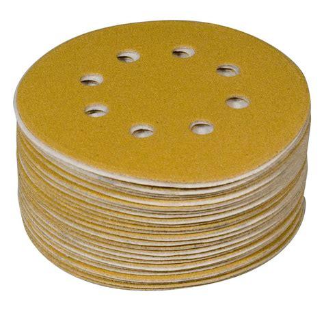 powertec   ao hook  loop  hole sanding disc
