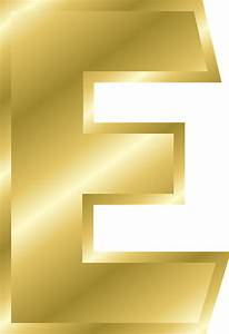 letter e capital free vector graphic on pixabay With gold letter printing