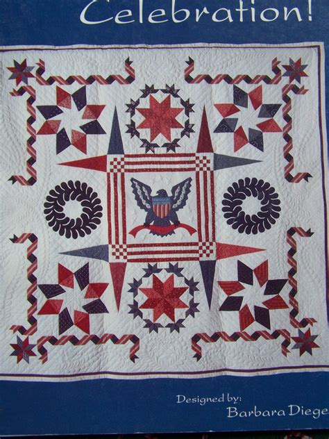 patriotic quilt patterns vintage patriotic quilt pattern eagle july 4th