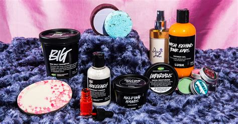 lush products hair skin care routine reviews