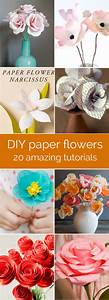 20 diy paper flower tutorials how to make paper flowers for These diy party decorations are incredible