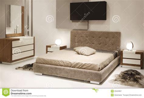 chambres à coucher modernes chambre à coucher moderne photographie stock libre de