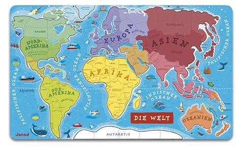 Die Welt Landkarte  Kleve Landkarte