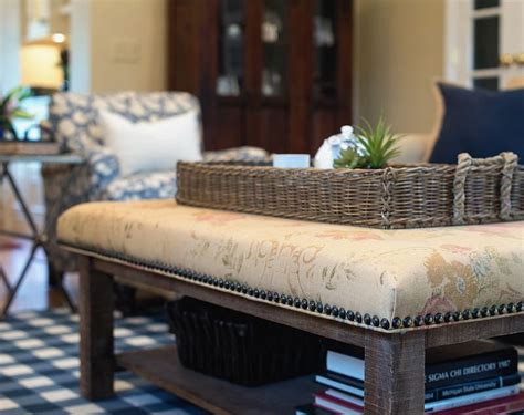 how to upholster an ottoman coffee table 50 tufted and upholstered coffee tables for the cozy
