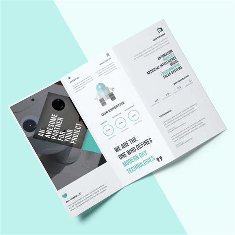 Two Fold Brochure Design by 2 Fold Brochures