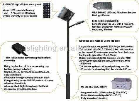 12v solar led garden l solar garden lighting pole light