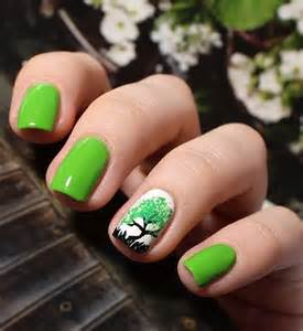 Lime green nails nail art styling