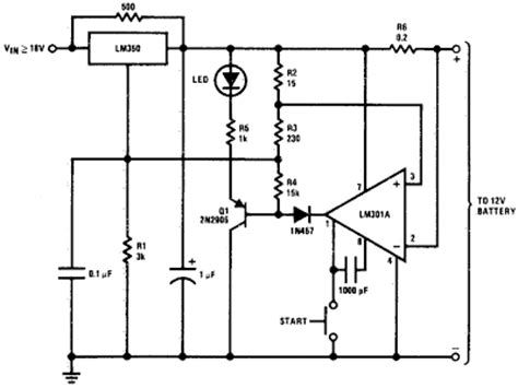 Simple Battery Charger Circuit Diagram Circuits