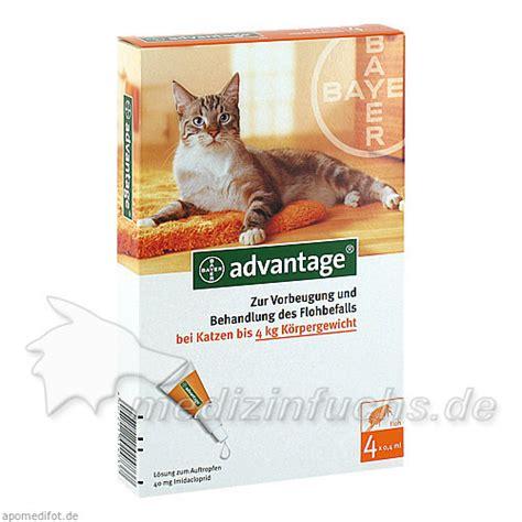 advantage  loesung fkatzen bis  kg  st preisvergleich