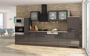 Küchenzeile Mit Elektrogeräten Billig : k chenzeile mit elektroger ten g nstig mit aufbau ~ Markanthonyermac.com Haus und Dekorationen