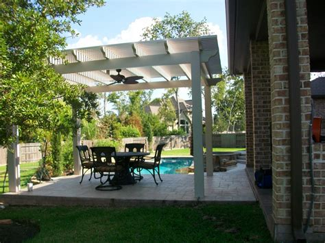 freestanding pergola in cypress lone patio builders